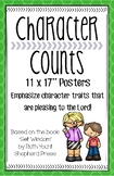 """Character Counts Posters 11""""x17"""""""