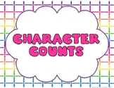 Character Counts Posters