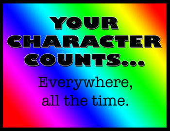 Character Counts Posters - All Six Pillars!