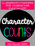 Character Counts Posters with Definitions