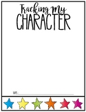 Character Education: Tracking my Character (Data Notebook)