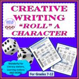 Creative Writing, games, dice, fun stuff, creative thinkin