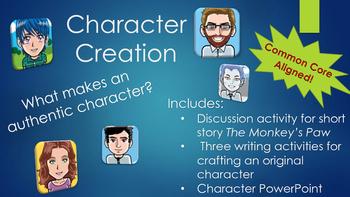 Short Story Character Creator