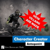 Character Creator: Antagonist - Creative Writing - Distanc