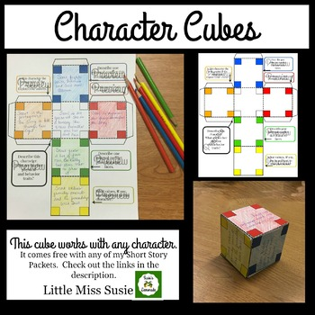 Character Cube Interactive- Works for Any Character