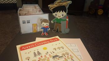 Character Cut-Outs for Anno's Counting Book