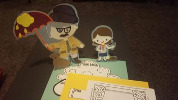 Character Cut Outs for Cloudy With a Chance of Meatballs