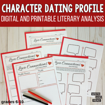 Character Dating Profile: Analysis for Any Story
