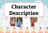 Character Description Activities