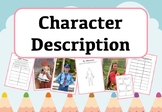 Character Description Activities