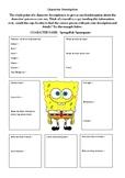 Character Description - SpongeBob Squarepants