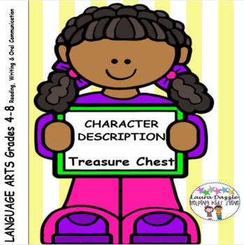 Character Description Treasure Chest & Presentation Grades 4-8