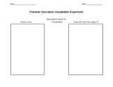 Character Description Worksheet