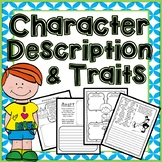 Character Description and Character Trait Activities