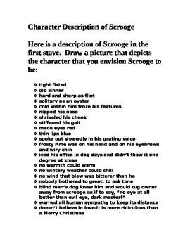 Character Description of Scrooge