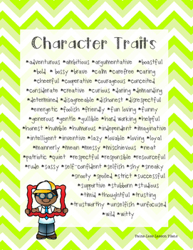 Character Descriptions