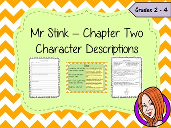 Character Descriptions Complete Lesson – Mr Stink