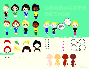 Character Design Templates