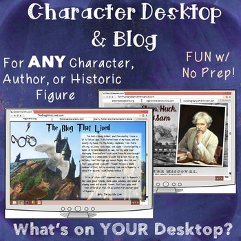 Character: Fun Activity for ANY Work of Literature