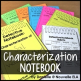 Characterization Detective Worksheets FREEBIE