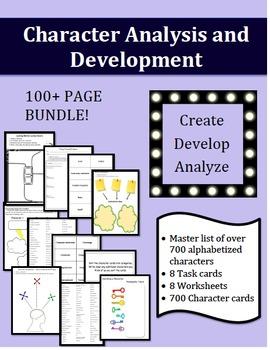 Character Analysis and Development - BUNDLE!