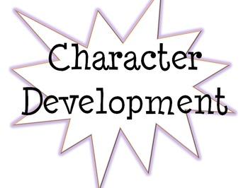 Character Development Bulletin Board Title