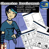 Character Development Bundle: 2 Lesson Plans in One! Bonus Clip-Art!