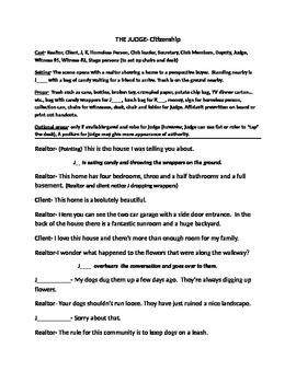 Character Development (Citizenship), Drama, Language Arts