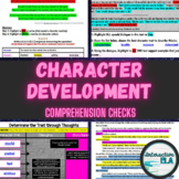 Character Development Comprehension Checks: Grades 5-6 R.A.C.E.