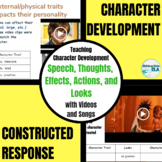 Character Development + Constructed Response: S.T.E.A.L. Bundle