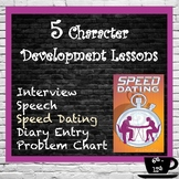 Character Development:  Create a new character or Analyze