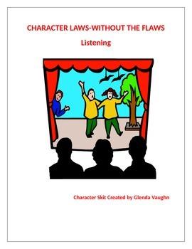 Character Values-Listening, Problem Solving, Life Skills