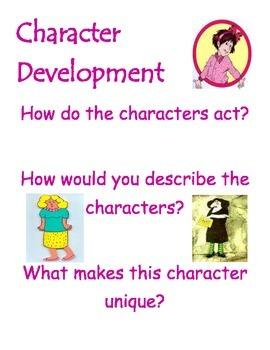 Character Development Poster