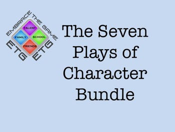 Character Development Program: Complete Bundle Lessons 1-6