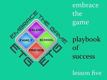 Character Development Program: Lesson 5- Decide to Work Hard/ Sacrifice