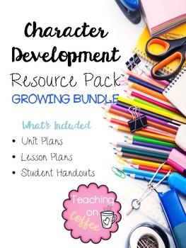 Character Development Resource Pack