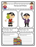 Character Development, Story Elements, and Story Structure Graphic Organizers