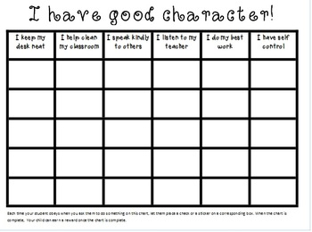 Character Development for Classroom and Home