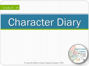 Character Diary Project