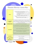 Character Dilemma - Teaching Students PBL
