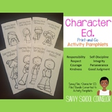 Character Ed. Activity Pamphlets