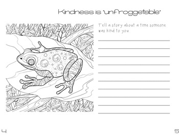 Character Ed Booklet - Kindness