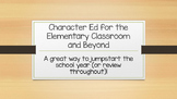 Character Ed--Elementary and Beyond