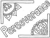 Character Ed - Perseverance Coloring Page