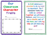Character Ed using Aesop's  Fables 7 Character Traits/ Interactive Notebook pgs