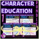Character Bundle 1 - self-esteem, resilience, self-respect, empathy, courage