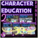 Character Education Bundle 2 honesty, compassion, respect, tolerance, leadership