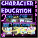 Character Ed Lesson Bundle honesty, compassion, respect, tolerance, leadership