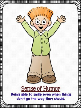Character Education Posters for Grades 3-5