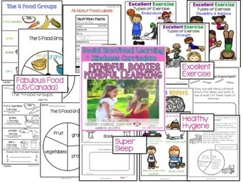 Social Emotional Learning and Kindness Curriculum Bundle